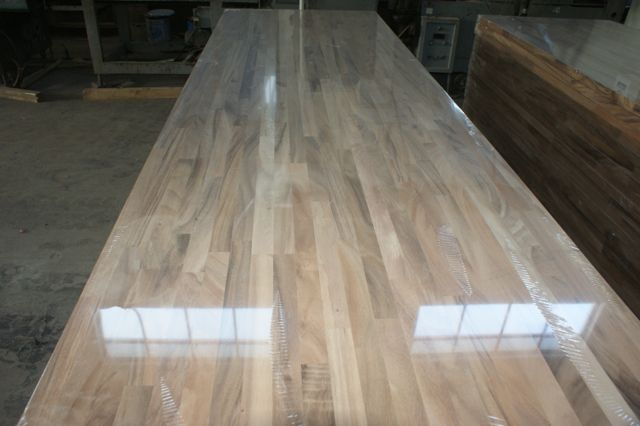 Butcher Block Workbench >> European Walnut Worktops--Jieke Wood