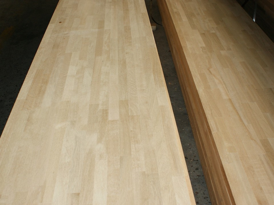White Oak Wood Worktops Jieke Wood