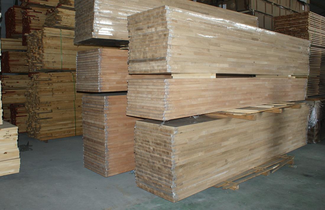 White Oak Walnut Wood Worktops