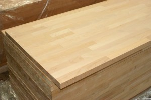 Beech Solid wood worktop countertop island top table top butcher block  finger jointed panels 3