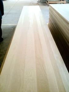 Oak full stave worktops full lamellas countertop butcher block table top 2