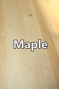 maple full stave worktops 1 Wood Kitchen Worktops