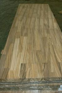 zebrano wood worktops countertops finger jointed panels butcher blocks 3