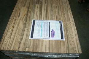 zebrano wood worktops countertops finger jointed panels butcher blocks 5