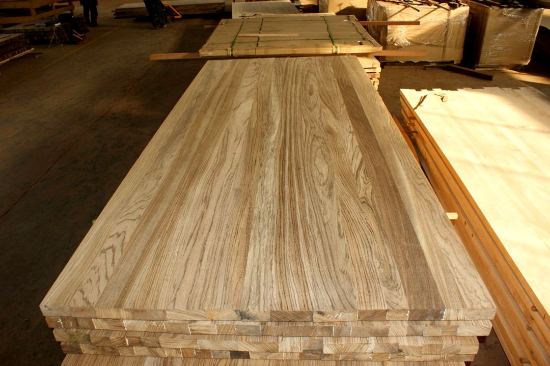 ZebraWood Full Lamellas Worktops - Jieke Wood