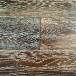 White Oak Engineered Flooring-Simoked brush
