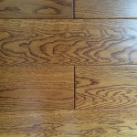 White Oak Engineered Flooring-Teak color UV Lacquer