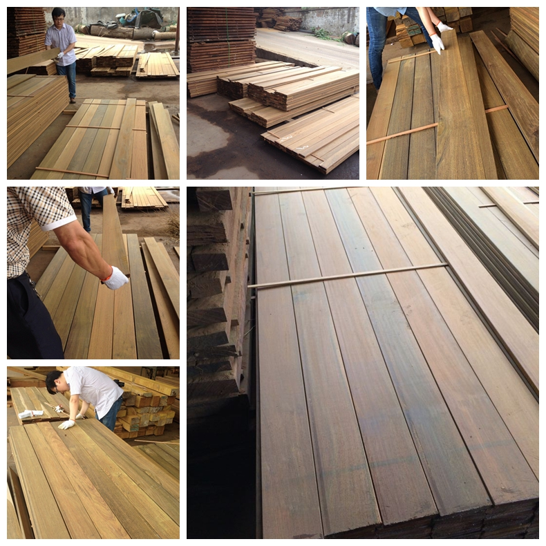 Solid Wood Decking Inspection
