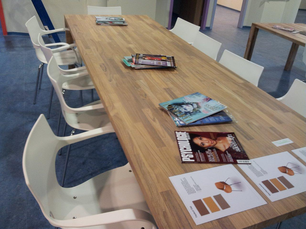 Teak Meeting Solid Wood Table Tops