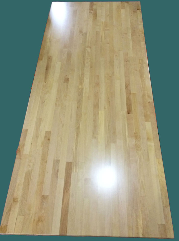 Birch Solid Wood Table Tops Butcher Block Table Tops