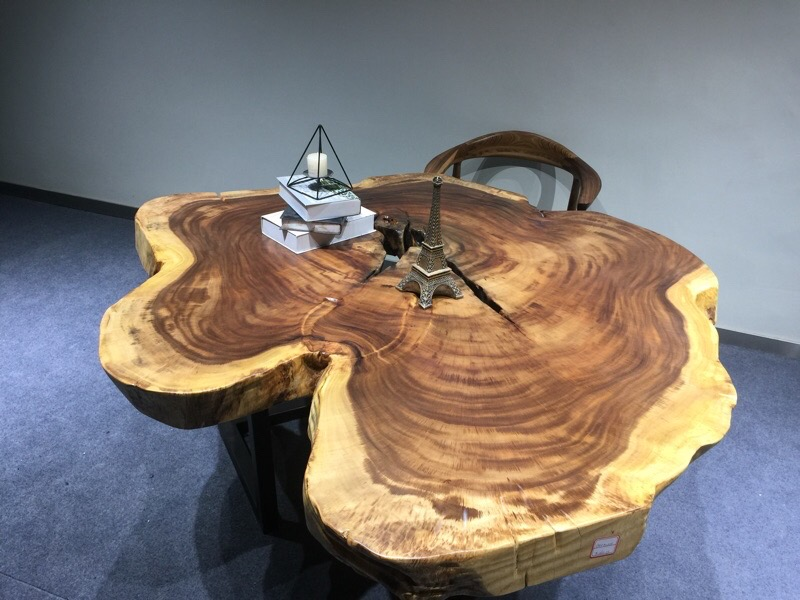 Live Edge Slab Table Moreu2026 Live Edge End Grain Table Moreu2026