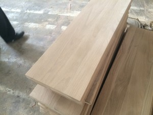 Oak stair boards - 3