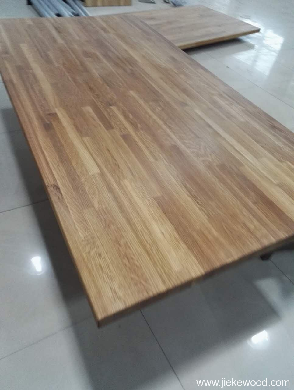 Oak solid wood table tops worktops butcher block