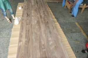 American Black Walnut Full Lamellas Worktops full lamellas countertop butcher block table top 2