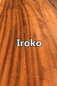 Iroko full stave worktops full lamellas worktops edge grain butcher block countertops 0 Wood Kitchen Worktops