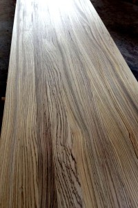 zebrawood Full Lamellas Worktops full lamellas countertop butcher block table top 3