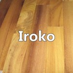 Iroko engineered wood flooring