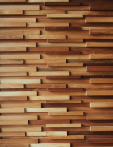 African Teak Wood Wall Panels