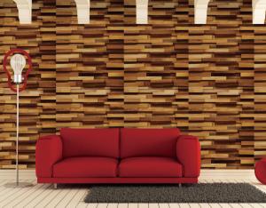 African Teak 3D Wall Panels view