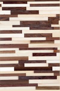 Walnut & Maple 3D Wood Wall Panels