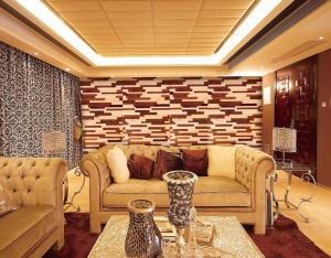 walnut & Maple 3D Wall Panels view