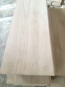 Oak stair boards - 1
